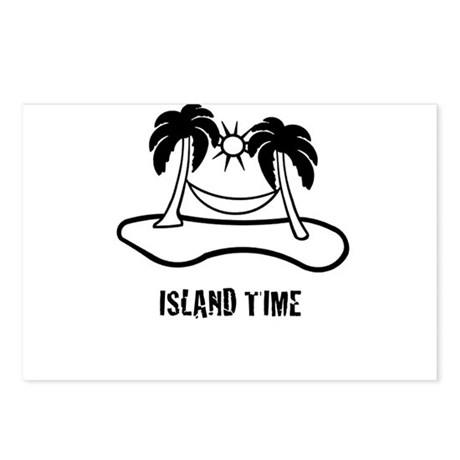 Island Time Postcards (Package of 8)