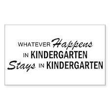 Whatever Happens - Kindergarten Decal