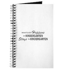 Whatever Happens - Kindergarten Journal