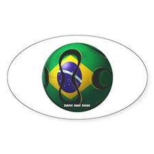 Brazil Soccer Decal