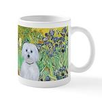 Irises / Maltaese (B) Mug