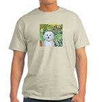 Irises / Maltaese (B) Light T-Shirt