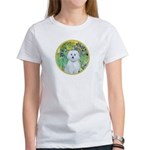 Irises / Maltaese (B) Women's T-Shirt
