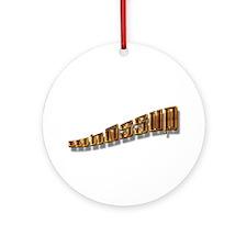 Whassup Ornament (Round)