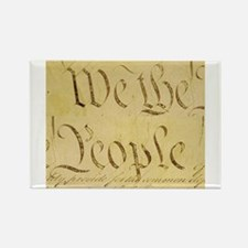 We The People I Rectangle Magnet