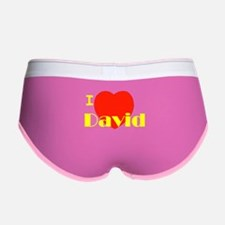 I love David Women's Boy Brief