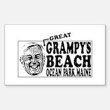 Grampy's Beach Decal
