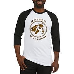 Ride A Zambian Baseball Jersey