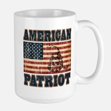 American Patriot Large Mug