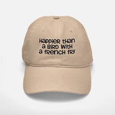 Happier Bird Baseball Baseball Cap