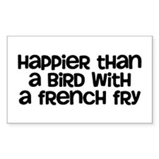Happier Bird Decal