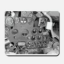 P-38 Cockpit Mousepad