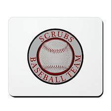 Scrubs Baseball Team Mousepad