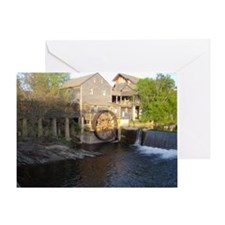 Old Mill in Pigeon Forge, TN Greeting Card