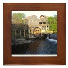 Old Mill in Pigeon Forge, TN Framed Tile