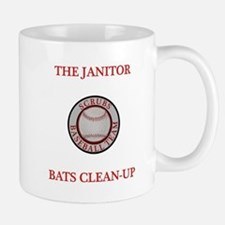 The Janitor Bats Clean-Up Mug