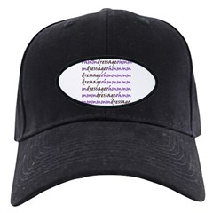 dressage ohm (purple) Baseball Hat