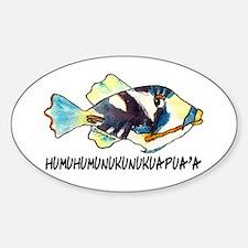 Humuhumu Fish Decal