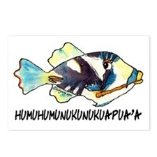 Humuhumu Fish Postcards (Package of 8)
