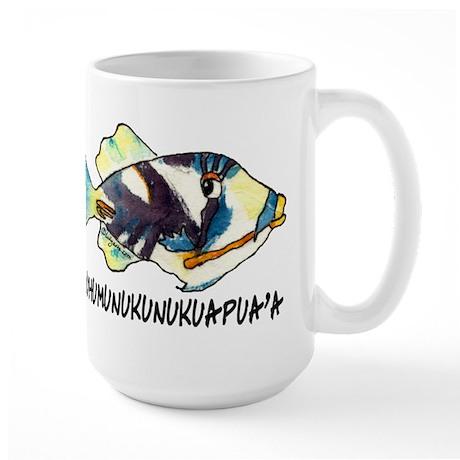 Humuhumu Fish Large Mug