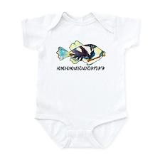 Humuhumu Fish Infant Bodysuit