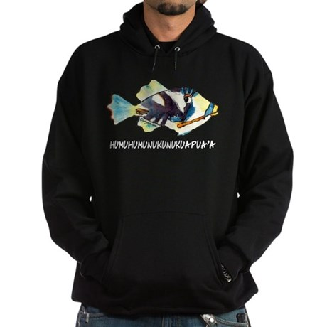 Humuhumu Fish Hoodie (dark)