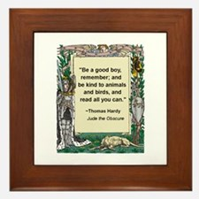 Read All You Can Framed Tile