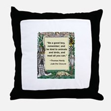 Read All You Can Throw Pillow