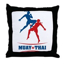 Muay Thai Throw Pillow