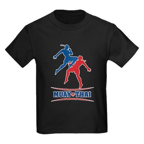 Muay Thai Kids Dark T-Shirt