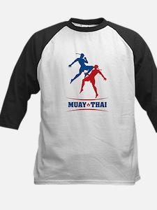 Muay Thai Kids Baseball Jersey