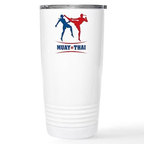 Muay Thai Stainless Steel Travel Mug