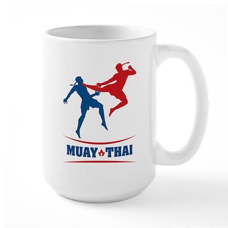 Muay Thai Large Mug