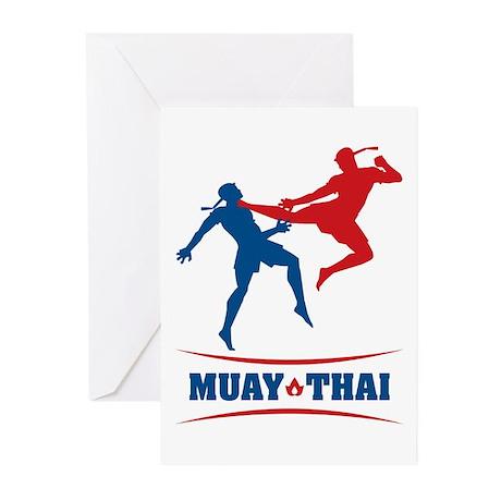 Muay Thai Greeting Cards (Pk of 10)