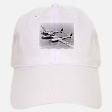 P-38 In Flight Baseball Baseball Cap