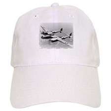 P-38 In Flight Baseball Cap