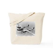 P-38 In Flight Tote Bag