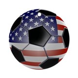 Soccer Round Ornaments