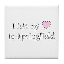 Springfield Tile Coaster