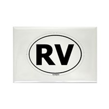 RV Oval Rectangle Magnet
