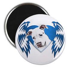 Bully Tribal Heart Wings Magnet