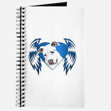 Bully Tribal Heart Wings Journal