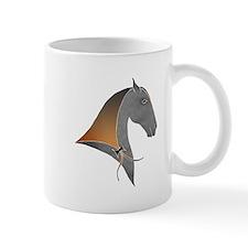 i love dressage grey Mug
