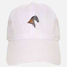 i love dressage grey Baseball Baseball Cap