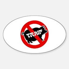 Traif Sticker (Oval)