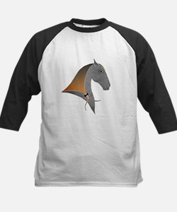 i love dressage grey Kids Baseball Jersey