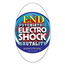 End Electro-Shock Brutality Decal