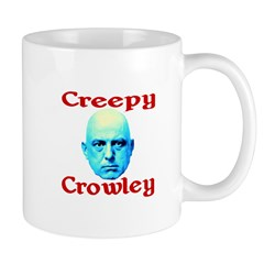 Creepy Crowley Mug