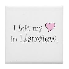 Llanview Tile Coaster