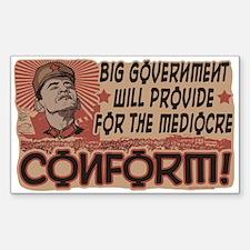 Conform! Anti-Obama Decal
